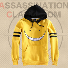Assassination Classroom Korosensei Cosplay Ansatsu Kyoushitsu Jacket Hoodie Yellow Anime Costume