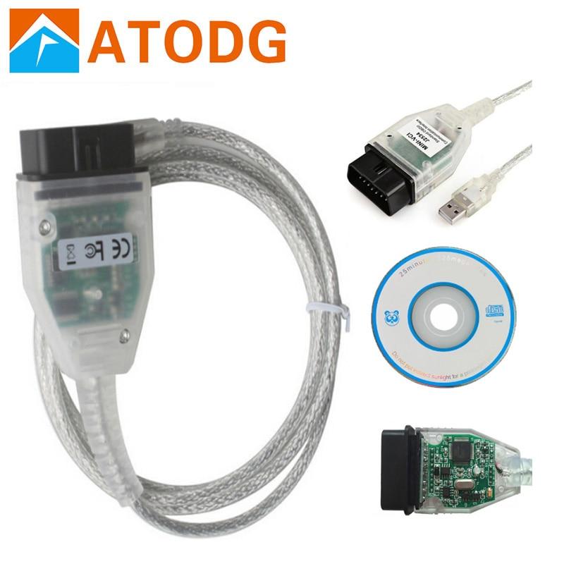 Мини VCI для toyota, Одиночный кабель V12.00.127 с чипом FTDI FT232RL для toyota MINI VCI j2534 для TIS Techstream, поддерживает TIS OEM