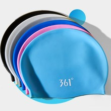 361 Silicone Swimming Cap for Men Women Swimming Pool Cap Waterproof Ear Protection Professional Water Sports Kids Swim Hat 361 swimming caps for men women long hair women swimming cap for pool professional silicone swim hat waterproof ear protection