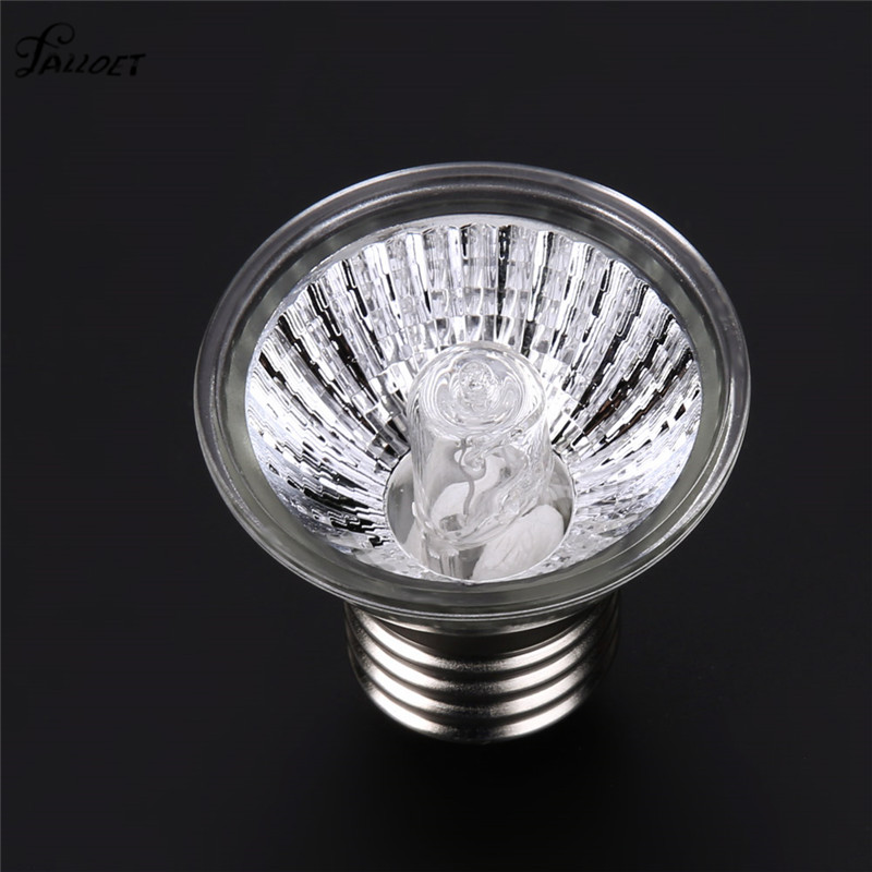 UV LED Lamp Reptile Tortoise Heating Lamp Full Spectrum Sunlamps Basking Pet Brooder Heat Light Lamp Bulb 25W/50W/75W