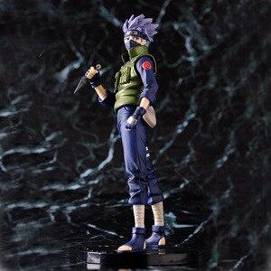 Image 2 - 23 cm Bán Hot Naruto Hatake Kakashi Hành Động Hình Shippuden Con Số Phim Hoạt Hình Sưu Tập Đóng Hộp Đồ Chơi Mô Hình Doll Quà Tặng Sinh Nhật WX403