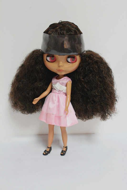 O Envio gratuito de big desconto RBL-108DIY Nude Blyth boneca de presente de aniversário para a menina 4 cores grandes olhos bonecas com Cabelo bonito bonito brinquedo