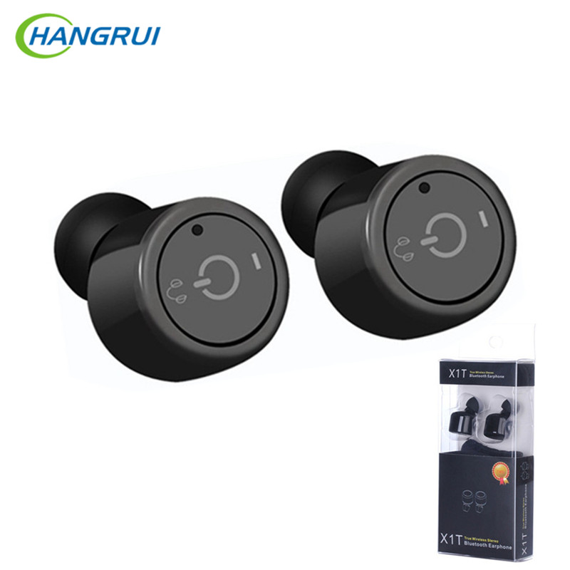 HANGRUI Mini True Bluetooth Earphone In Ear wireless earphones with Mic Invisible Sport headset Stereo Earbuds Fones de ouvido skhifio bluetooth earphone wireless headphone with mic stereo in ear sport headset earbuds music earphones for phone iphone