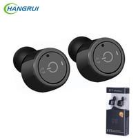 HANGRUI Mini True Wireless Headset Earphone Bluetooth V4 2 In Ear Earphones With Mic Noise Cancelling