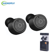 HANGRUI Mini True Wireless Headset Earphone Bluetooth V4 2 In Ear Earphones With Mic Noise Cancelling
