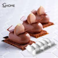 8 löcher Oval Kissen Form Silikon Kuchen Mousse Form 3D Handgemachte Cupcake Gelee Cookie Muffin Seife Maker DIY Backen Werkzeuge