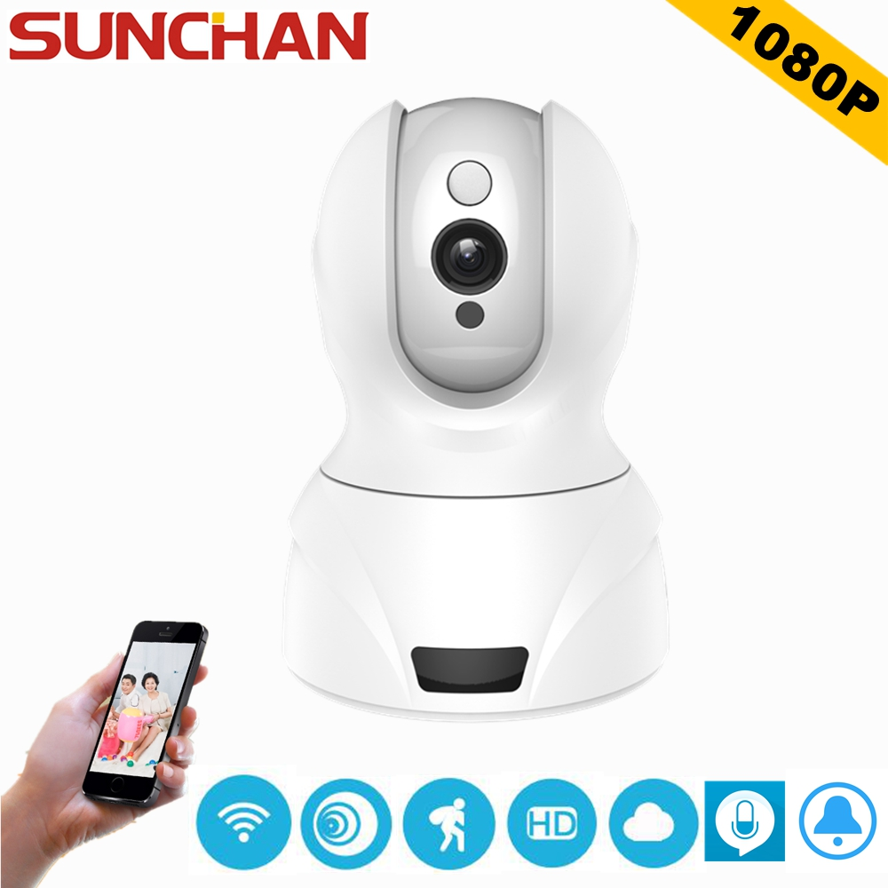 cheaper sunchan hd ip camera wifi 1080p home security surveillance camera p2p phone remote 2mp. Black Bedroom Furniture Sets. Home Design Ideas
