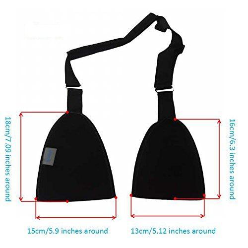 Chaves e Suporta sling cinta faixa reforçado imobilizador Material : Meshes Fabric, Plastic Ring , Woven Strip