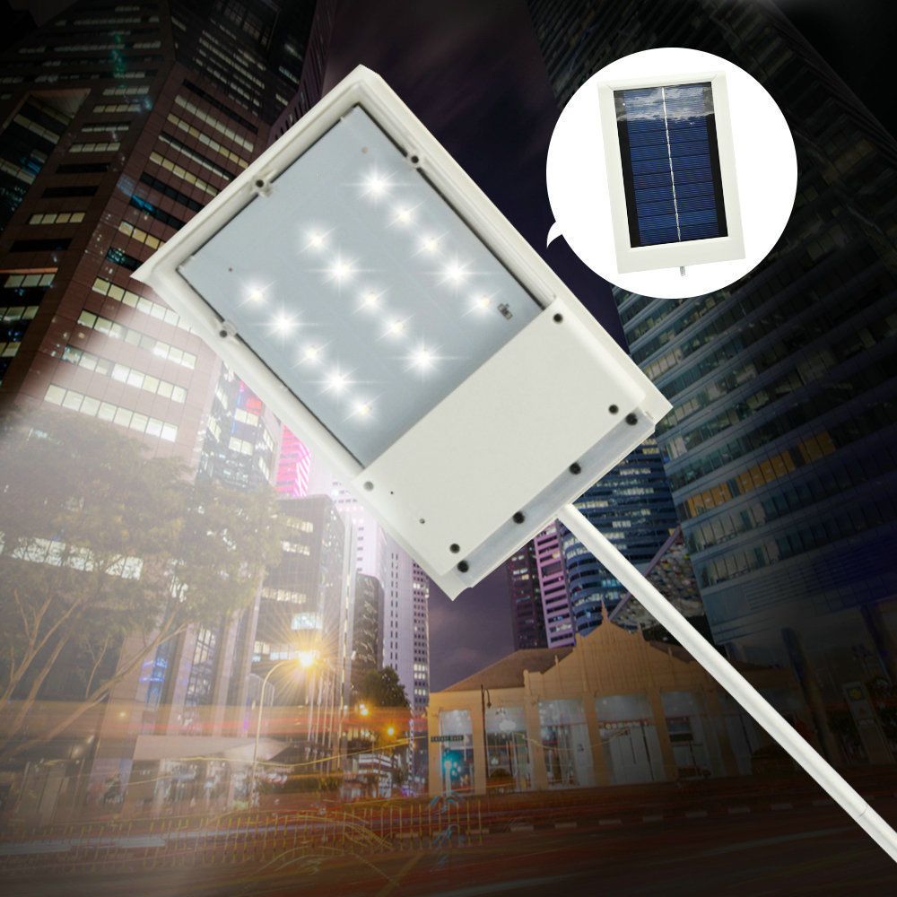 15 LED Solar Powered Panel LED Street Light Solar Sensor