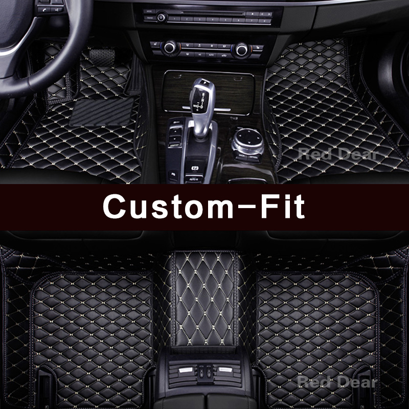 BMW Floor Mats >> Us 89 57 47 Off Custom Fit Car Floor Mats For Bmw X3 E83 F25 G01 Pvc Leather High Quality All Weather 3d Heavy Duty Carpets Rugs Floor Liners In