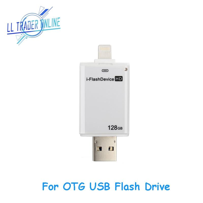 LL TRADER Para iOS OTG Unidad de memoria flash USB iPhone iPad - Almacenamiento externo