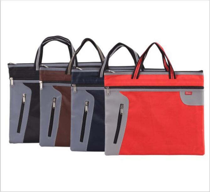 File-Bag Canvas Conference-Paper-Bag A4 D3117 Deshigao Custom-Printing Portable
