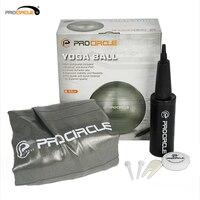 Procircle 65 cm PVC Yoga Toplar Anti Büstü İstikrar Egzersiz Denge Topu El Pompası ile Ev için/Gym/çekirdek Gücü/Pilates