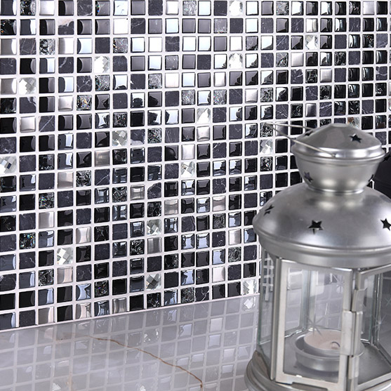 Stone Glass Tile Dark Blue Gray Black Silver Italy Mosaic Kitchen Tiles  Bathroom Mirror Tile Backsplash Wall Sticker Decor Tile On Aliexpress.com |  Alibaba ... Part 10