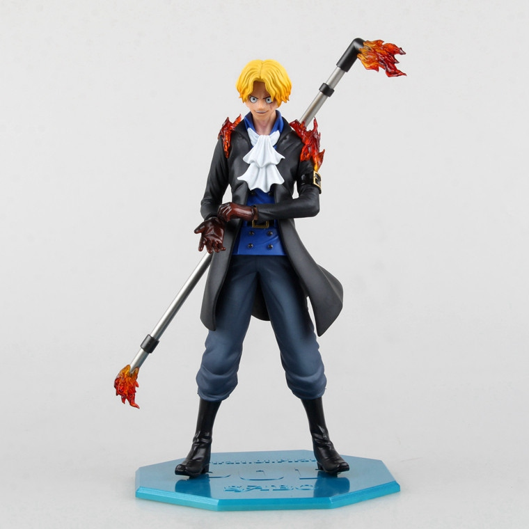 1 Pcs Newest Anime Variable Action Heroes One Piece Sabo Devil Fruit Movable 25 CM Action Figure POP Collectible Model Toy Boys