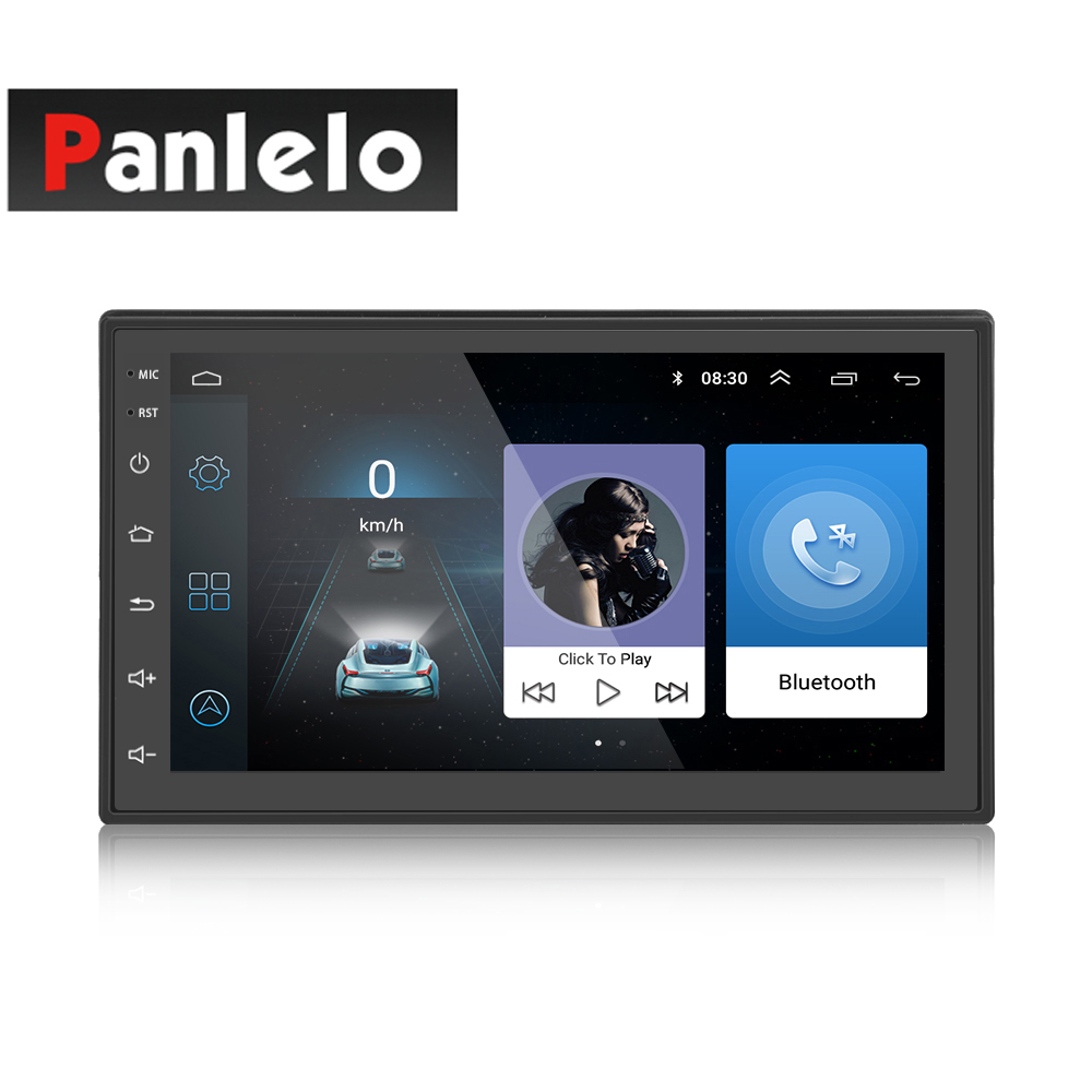 Android Car Stereo 2 Din 7 Inch GPS Navigation Bluetooth Music Video Player Mirror Link 1GB RAM 16GB ROM Quad Core 1024*600 SWC s6 2 din car stereo android quad core 7 inch gps navigation auto radio am fm mirror link bluetooth music video 1gb ram 16gbrom
