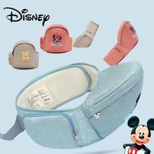 цена на Disney Mickey Minnie Baby Carrier Waist Stool Walkers Baby Sling Hold Waist Belt Backpack Hipseat Belt Kids Infant Hip Seat New