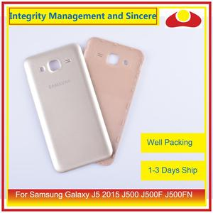 Image 4 - 50 Stks/partij Voor Samsung Galaxy J5 2015 J500 J500F J500FN J500H Behuizing Batterij Deur Achter Back Cover Case Chassis Shell vervanging