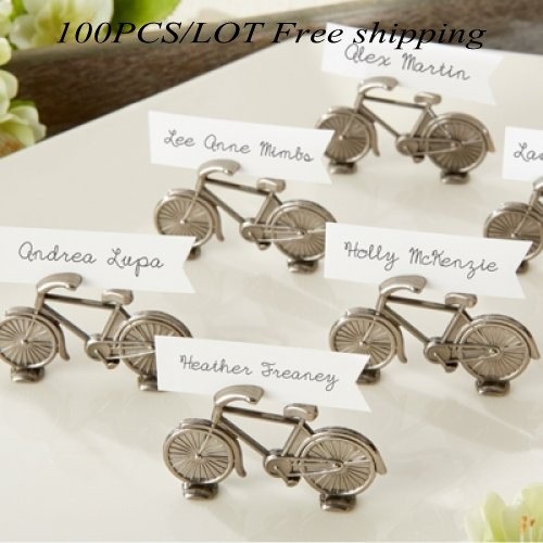100Pcs lot  Perfect Wedding and Party Decoration Favor of  Le Tour   Bicycle Place Card Photo Holder For Antique Wedding FavorOnline Get Cheap Antique Wedding Favors  Aliexpress com   Alibaba  . Antique Wedding Favors. Home Design Ideas