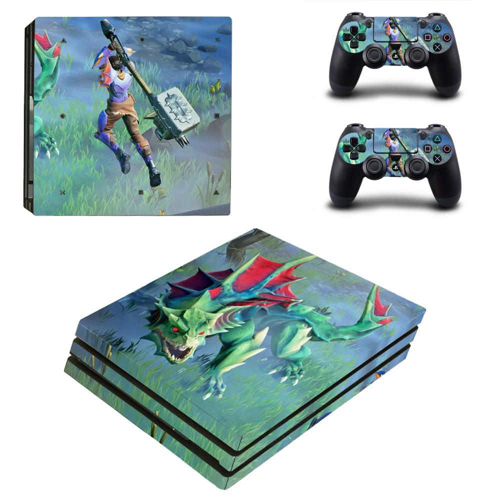 Game Dauntless PS4 Pro Skin Sticker For Sony PlayStation 4 Console and Controllers PS4 Pro Skin Stickers Decal Vinyl