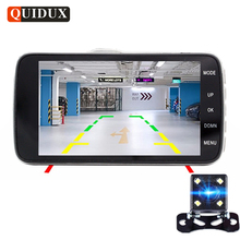 Cheap price QUIDUX 4.0″ IPS Car DVR Camera Dual Lens Dash Cam FHD 1080P with Rear view Auto Registrator Digital Video Recorder Camcorder