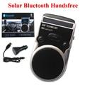 New Universal Wireless Bluetooth Car Kit Handsfree Speaker Phone+ Car Charger+solar power+LCD Display