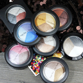Professional  Baked Eye Shadow Palette Eyes Makeup 8 color Pigment Eyeshadow Beauty Shimmer Metallic eye shadow makeup set Y2