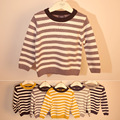 High Quality Children Clothing Baby Sweater Striped Long Sleeve Boys Sweater Kids Cotton Coat Pullover Autumn Kids Coat
