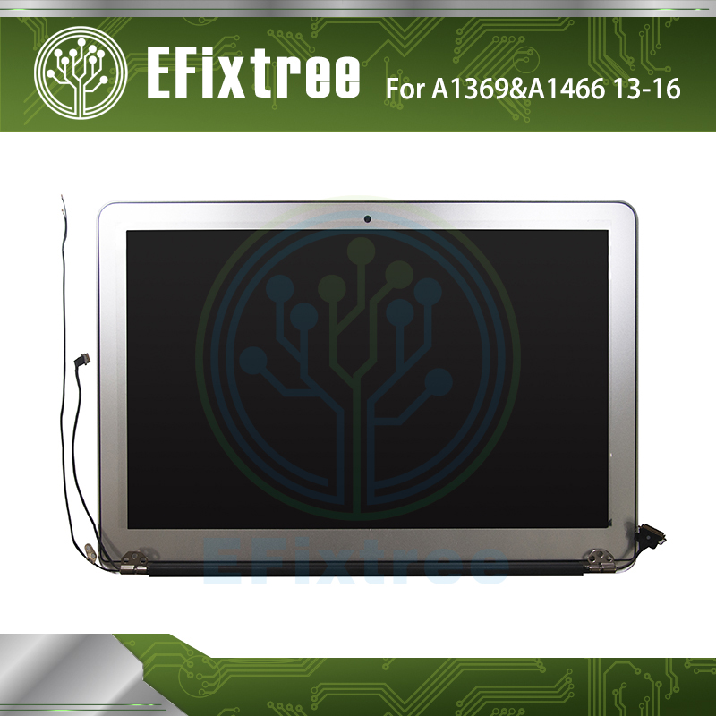Genuine A1466 LCD For Apple Macbook Air 13 A1466 LED Display Screen Complete Assembly 2013 2014 2015 2016 Year аксессуар аккумулятор tempo a1496 7 6v 54 4w для apple macbook air 13 a1466 mid 2013