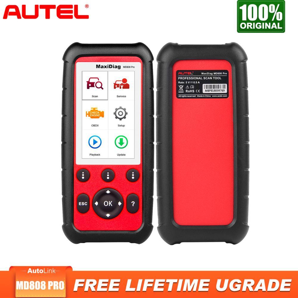 Autel MaxiDiag MD808 Pro OBD2 Scanner Diagnostic Tool Auto Scanner All System Eobd Automotivo Automotriz Automotive Car Scanner