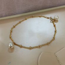 female pearl bracelets&bangles fashion jewelry accessories customized charms party wedding freshwater pearl bracelet for women nymph seawater pearl bracelets fine jewelry near round natural pearl bangles for women gold trendy anniversary gift [s308]