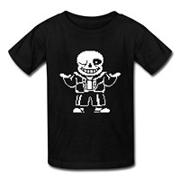 Summer Tops Men S Youth S Video Game Undertale Characters Sans T Shirts O Neck Short