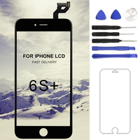 For Iphone 6S Plus LCD Tianma Quality No Dead Pixel Glass Touch Screen Digitizer LCD Assembly