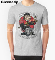 2016 Chicago Hockey Skate Or Die Printed T Shirt Men Blackhawk Hip Hop T Shirt Short