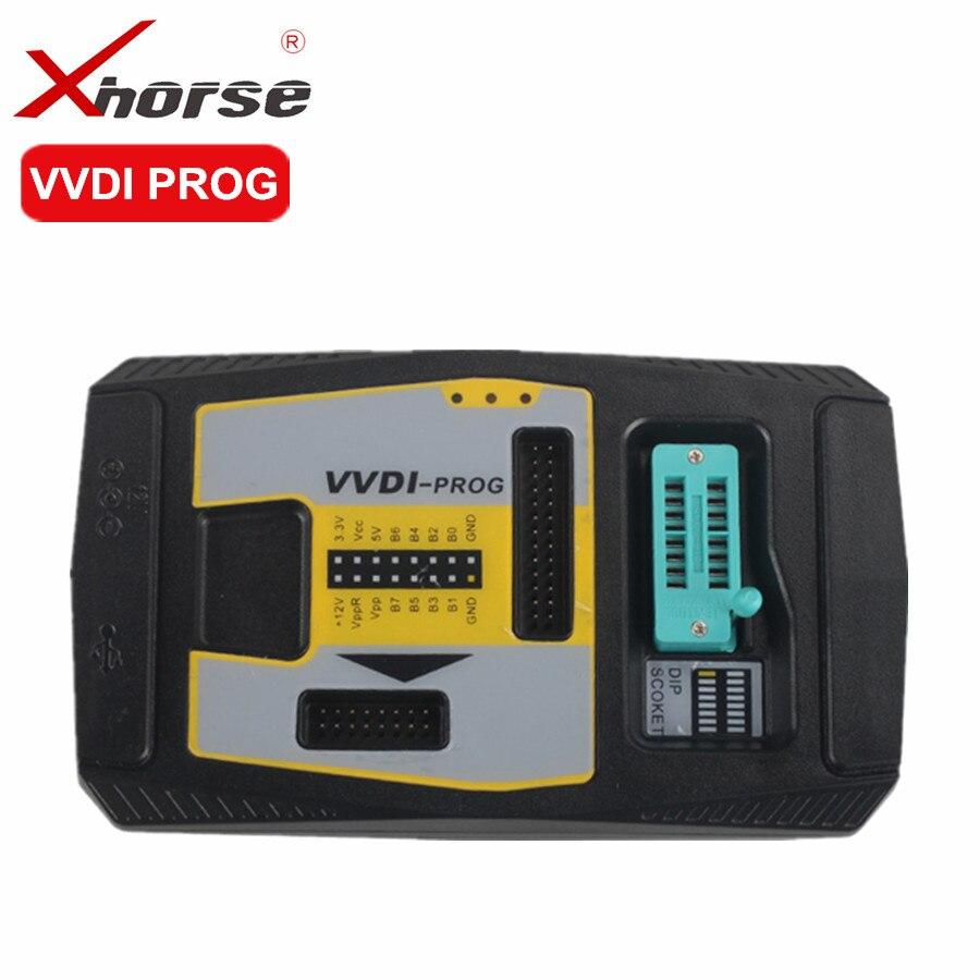 Originele Xhorse VVDI PROG Programmeur V4.7.5 VVDIPROG Auto Diangnostic-tool Programma Voor BMW Ondersteuning Update en Multi-talen