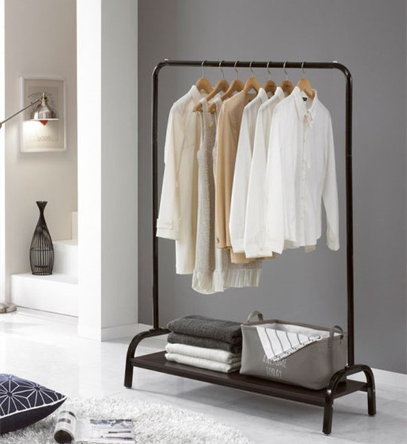 Rigga Clothes Rack White Clothes Rail Clothes Rack Room