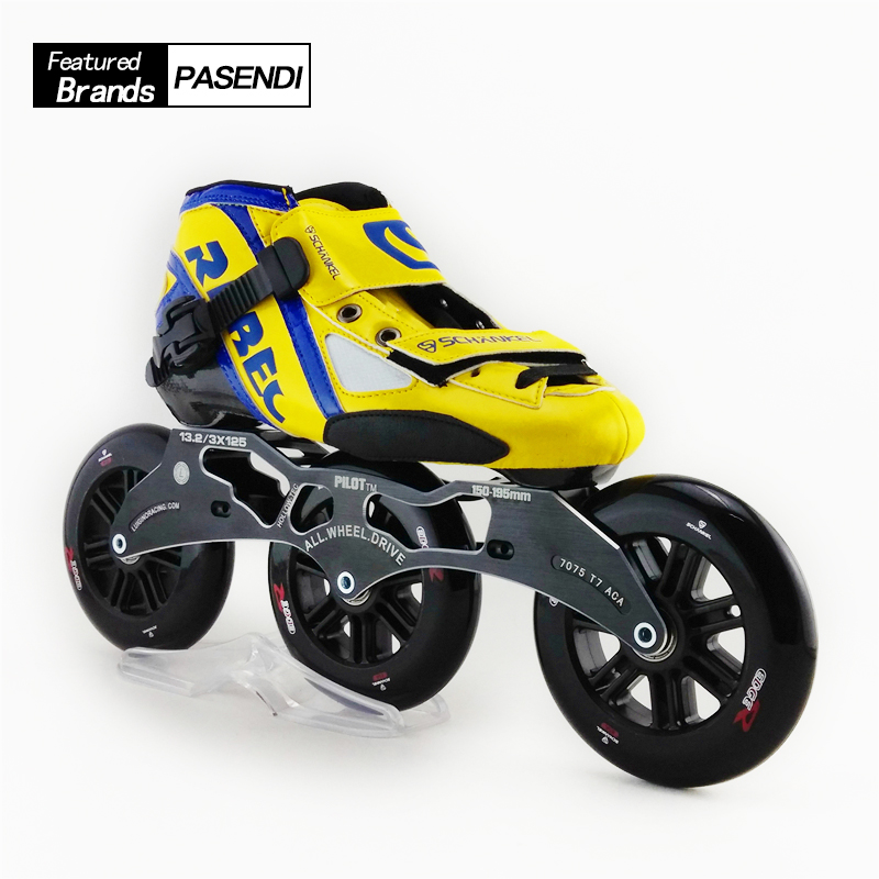 Adults Patins Roller Skate Rebecre Speed Roller Mens Slalom Speed Skating Shoes Professional 3 Wheel Inline Speed Skate children roller skating shoes s m l roller skate shoes adjustable road sliding slalom inline skates shoes