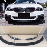 G30 MP style Carbon Fiber front bumper lip for BMW G30 5 series 530i 540i 2018