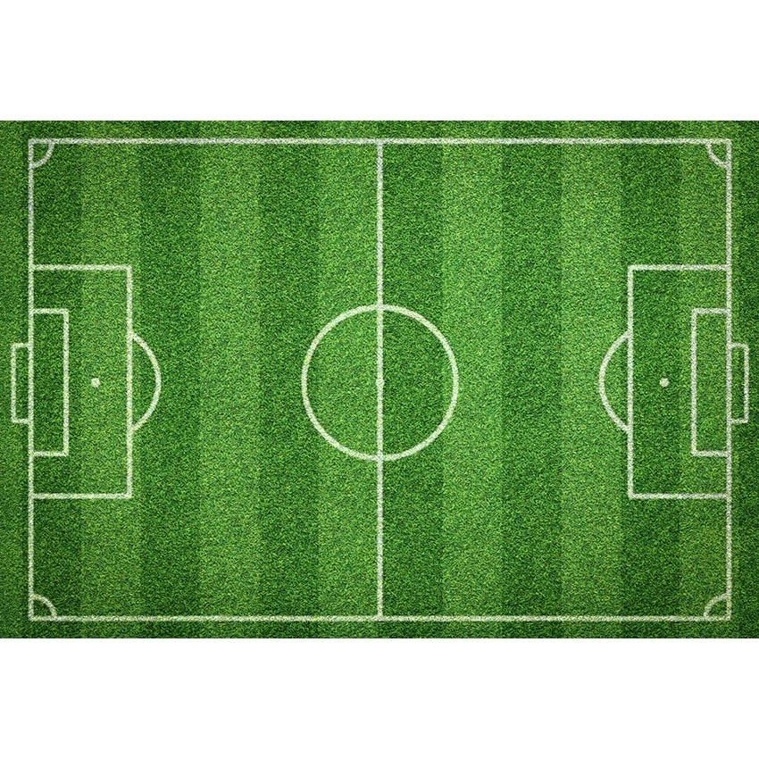 Photography Backdrops Soccer Match fantasy football pitch Children birthday Photo Background Backgrounds for Photo Studio G-276 circle