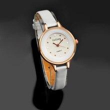 Gogoey Марка Для женщин часы маленький кожаный ремешок наручные часы Для женщин saat relogio feminino reloj mujer