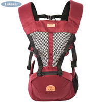 Ergonomic Baby Carrier Sling HipSeat Seperated Baby Kangaroo BackPack Wrap 1-36M Prevent o-type Leg Cotton Kids Mochila Backpacks & Carriers