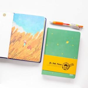 Image 2 - 2018 חדש בציר נסיך הקטן צבע נייר כריכה קשה יומן הערה ספר בית ספר ציוד משרדי יפני מכתבים