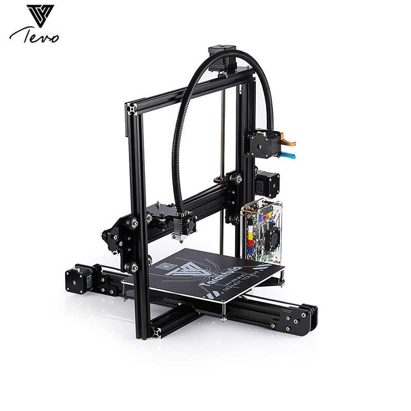 Tevo Tarantula Prusa I3 3D Printer DIY Kit Aluminum Frames Dual Extruder Large Printing Size With Large Heat Bed And 8GB SD Card все цены