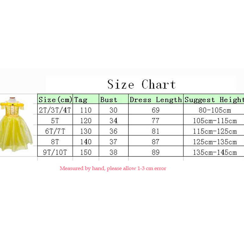 Toddler-Girls-Summer-Belle-Dresses-Princess-Costume-Party-Clothing-Beauty-and-the-Beast-Yellow-Dress-Sleeveless-Clothes-5