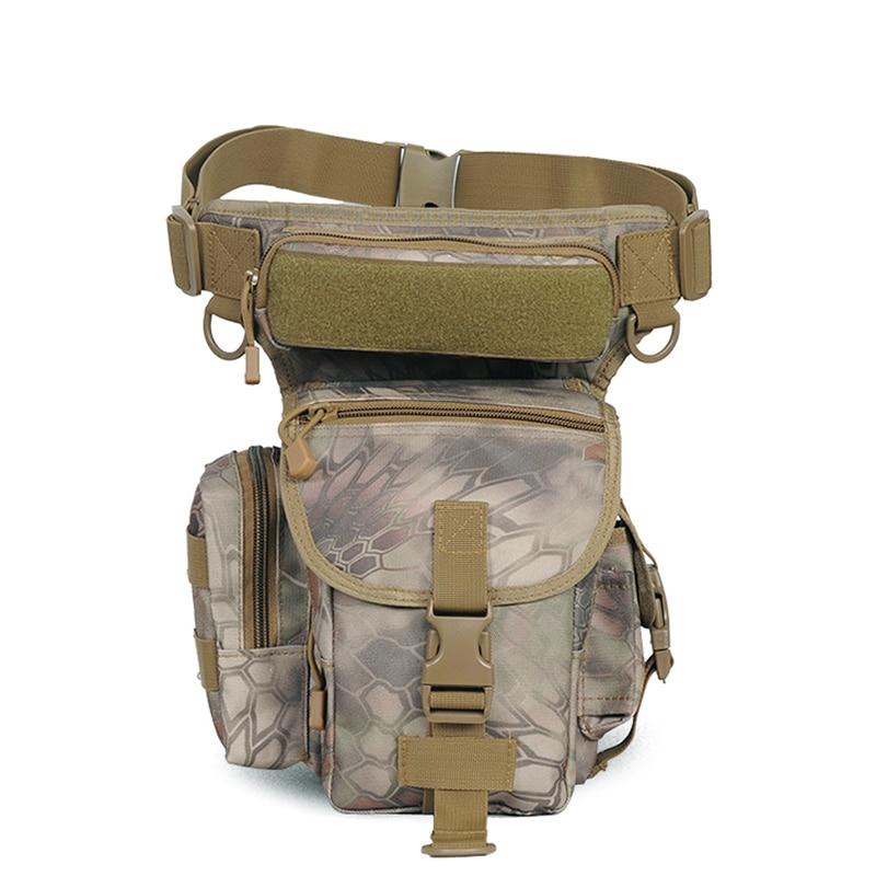 2018 오토바이 다기능 야외 전술 허리 팩 다리 가방 타고 작은 가방 전술 다기능 군사 전술 가방
