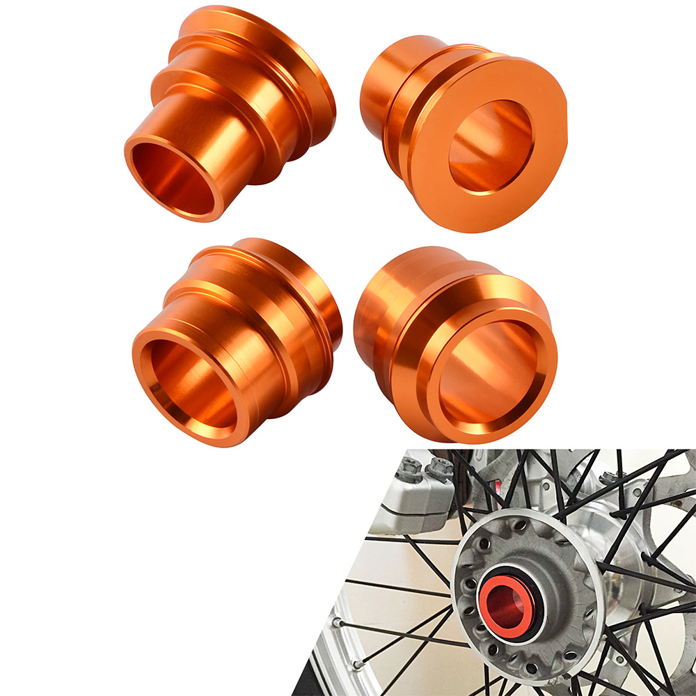 NICECNC Front Rear Wheel Hub Spacers For KTM 125 150 200 250 300 350 400 450 500 EXC EXCF EXCW XCW EXC-F XC-W 2016 2017 2018