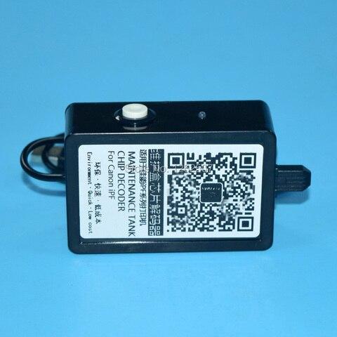 ipf650 ipf655 ipf750 ipf755 caixa de manutencao chip resetter