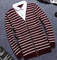 YJ1001M 2017 autumn winter Hot sale fashionable causal Fake two pieces warm christmas sweater men Cheap wholesale brand clothing