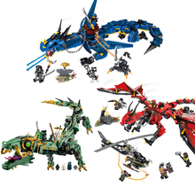 Ninjagoed Flying Mecha Dragon brick toy model action figure model toy gift compatible building blocks [jkela] 592pcs flying mecha dragon building blocks bricks toys children model gifts compatible with legoingly ninjagoingly