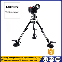 Professional Car Shooting Photography Tripod Flexible vehicle tripod with ball head/suction cup mount For dslr camera shooting
